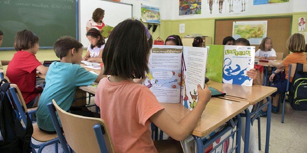 Niños en la vuelta al colegio discapacidad