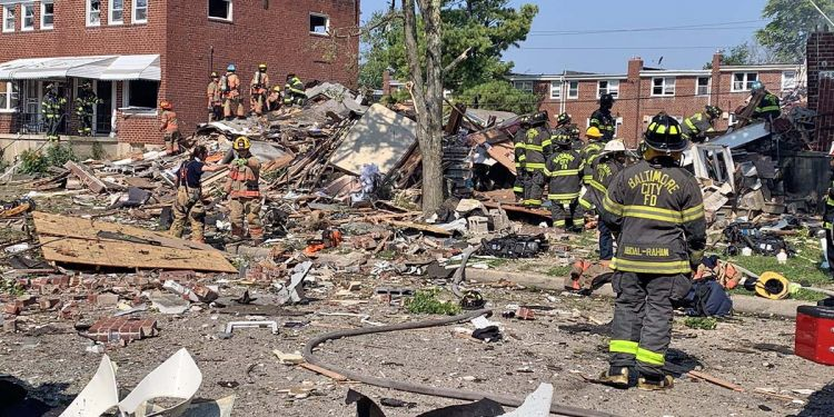 Explosión Baltimore