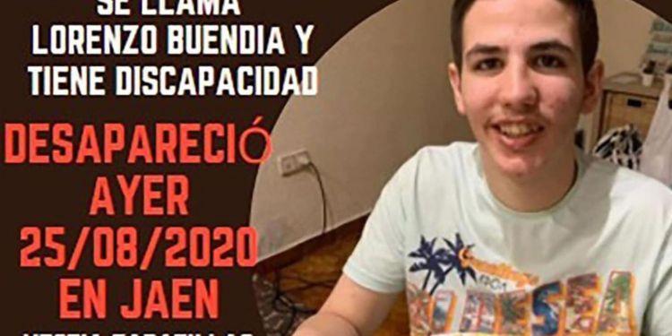 Lorenzo Buendia desaparecido jaen