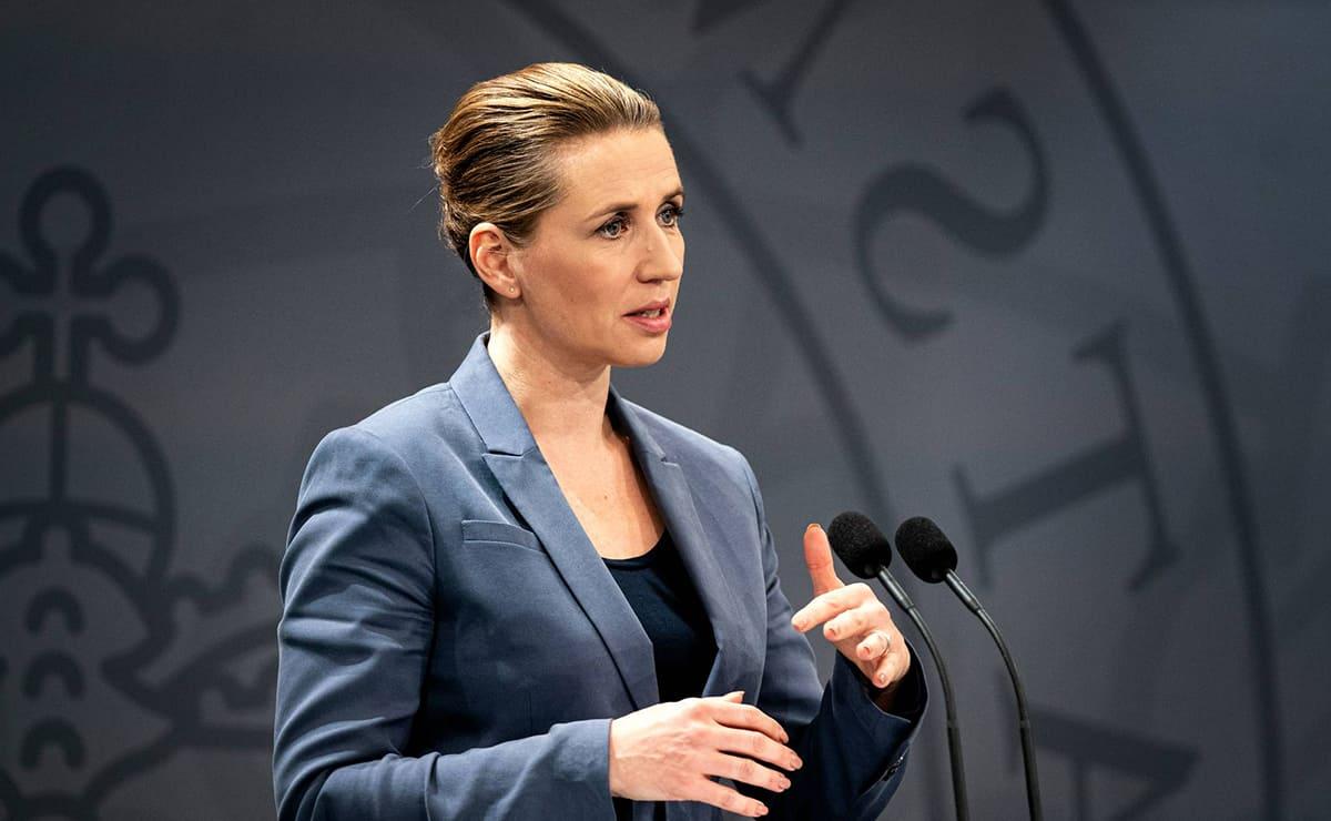 Mette Frederiksen Dinamarca