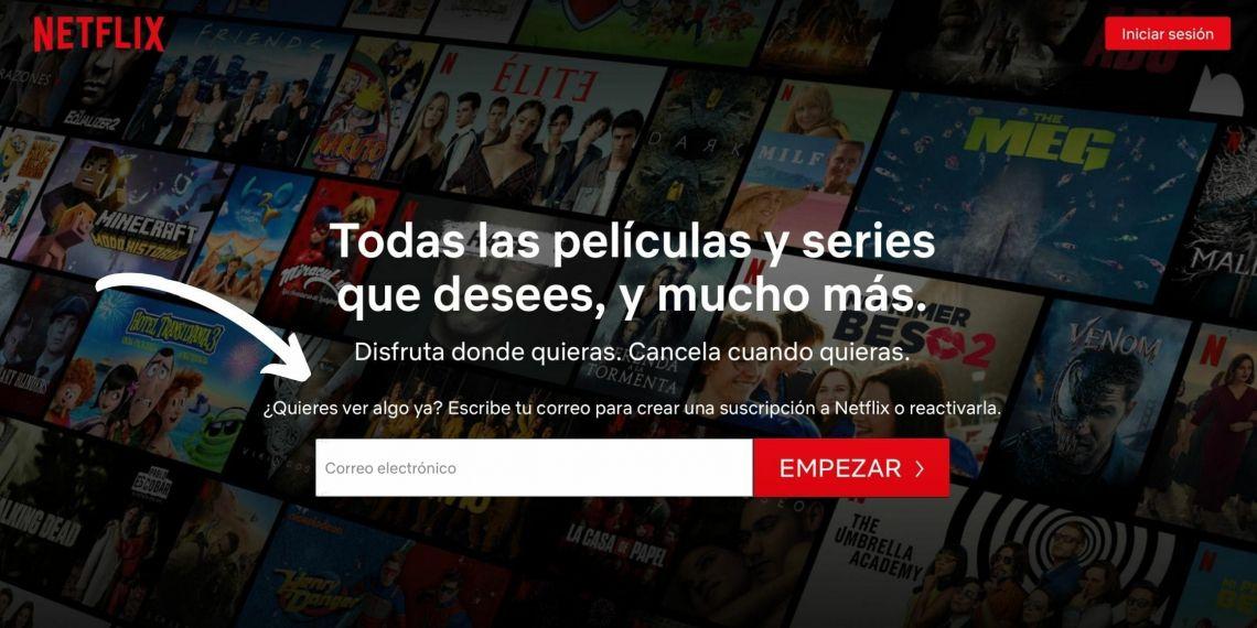 Registrar Netflix