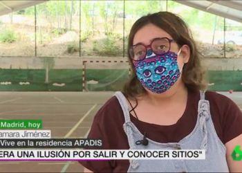 Tamara Jiménez Apadis personas con discapacidad intelectual