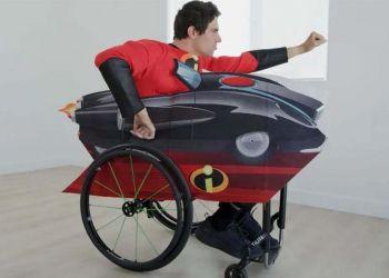 Disfraz Disney en silla de ruedas