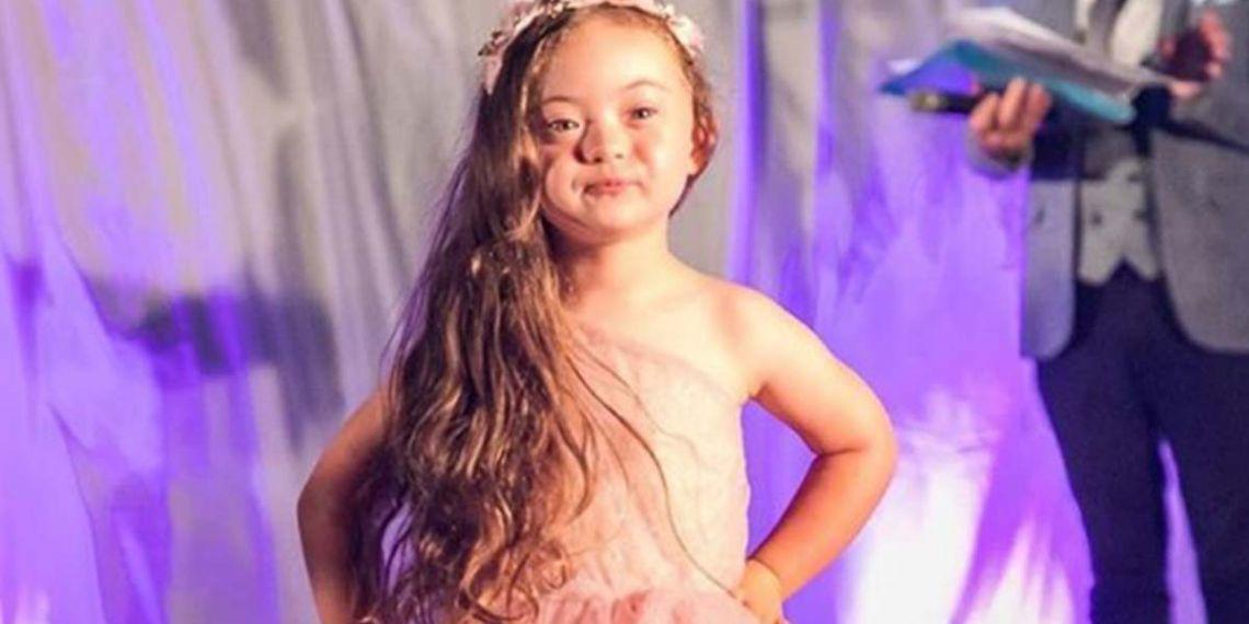 Francesca Rausi, modelo con síndrome de Down
