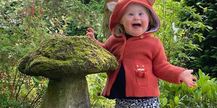 Eleanor, niña con síndrome de Down
