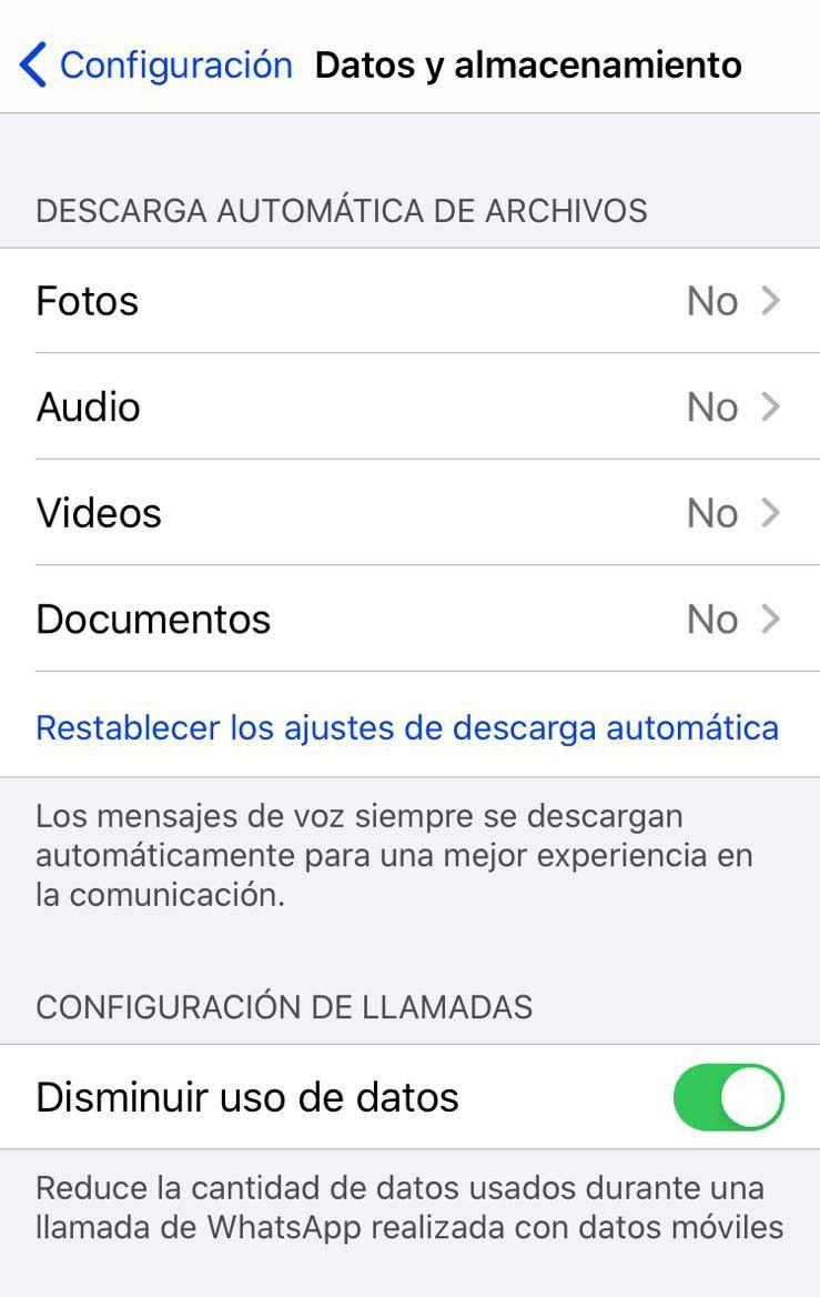 WhatsApp: truco para que las fotos y los vídeos no te llenen la memoria del móvil