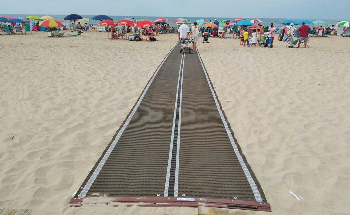 pasarela playa Matalascañas
