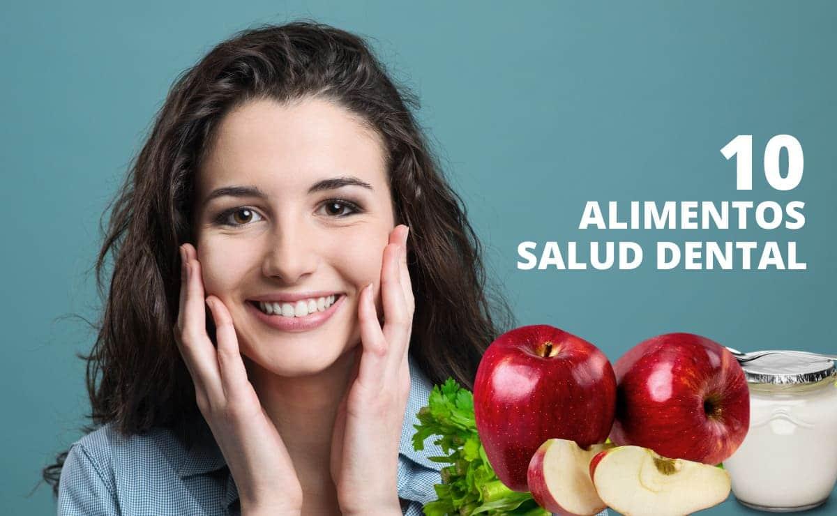 Alimentos para la salud dental