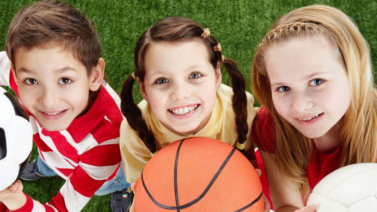 Niños deportes