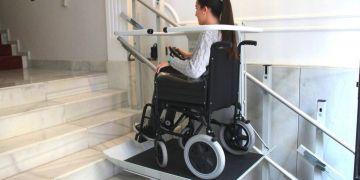 Plataforma Delta silla de ruedas