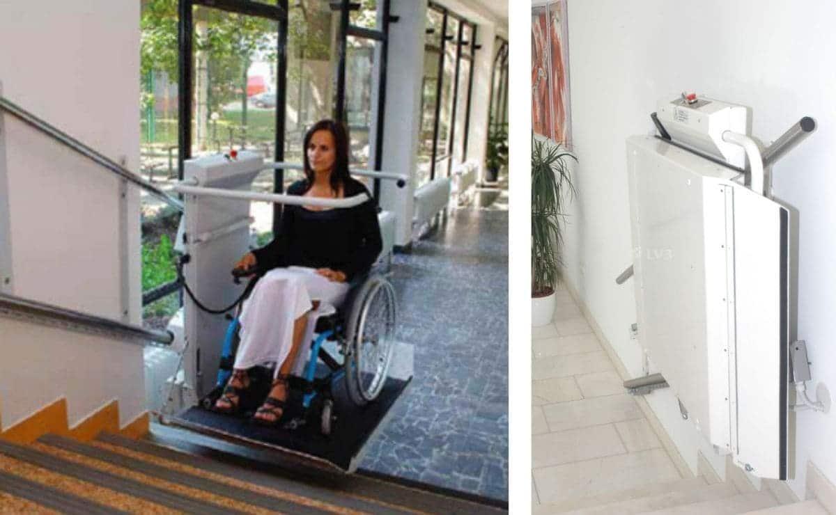 Plataforma silla de ruedas OTIS