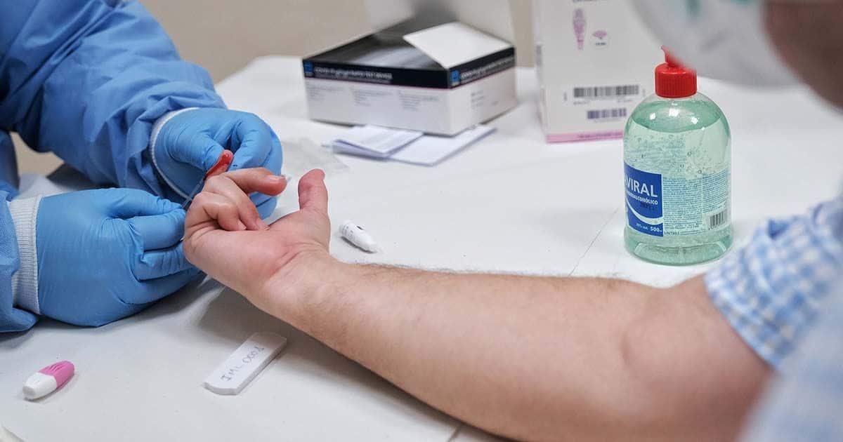 Test rápido coronavirus