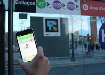 Asistente virtual en los buses de Barcelona
