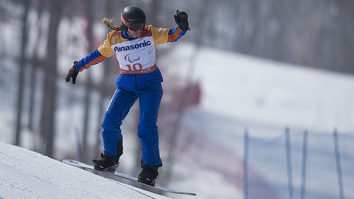 Astrid Fina, deportista paralímpica