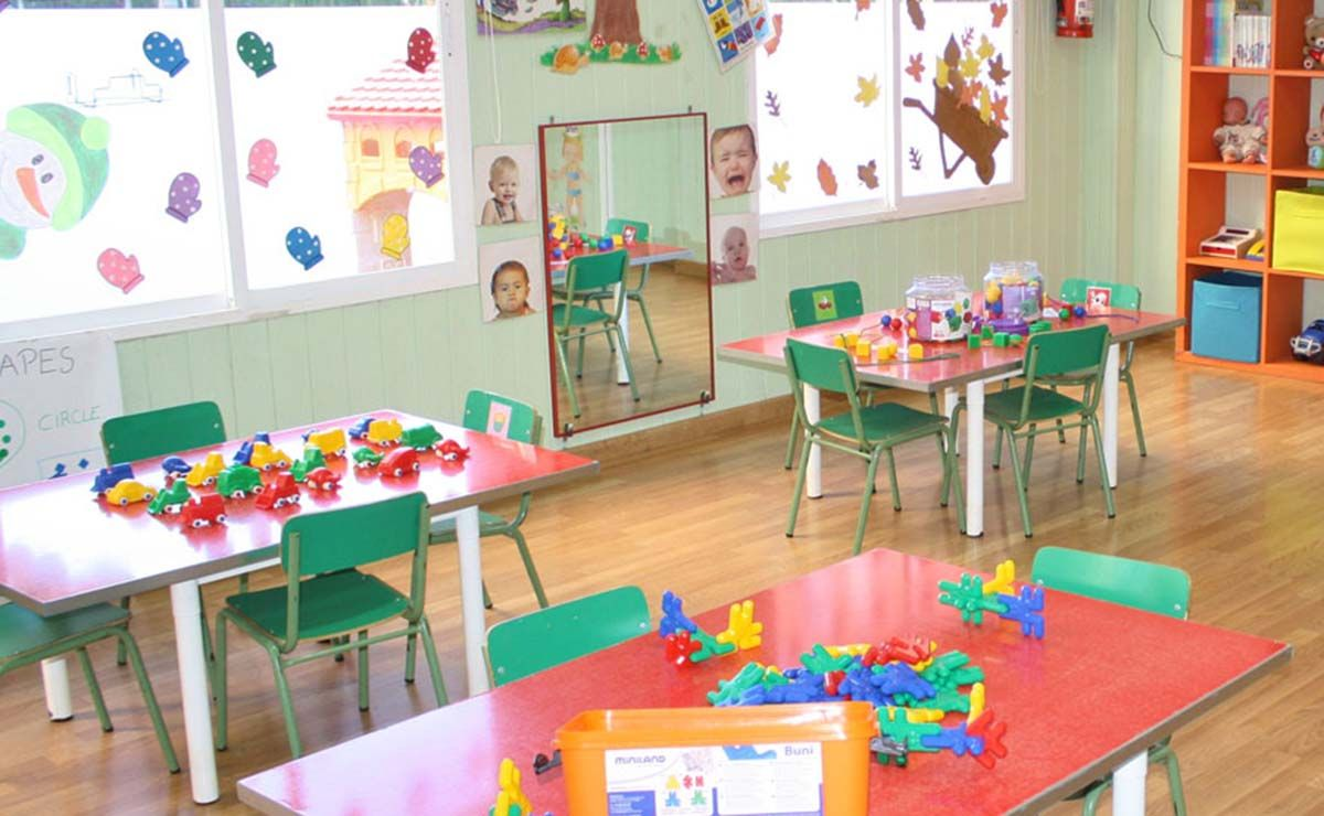aula escuela infantil Coronavirus