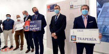 Presentación 'Placas Inteligentes' de las calles de Murcia