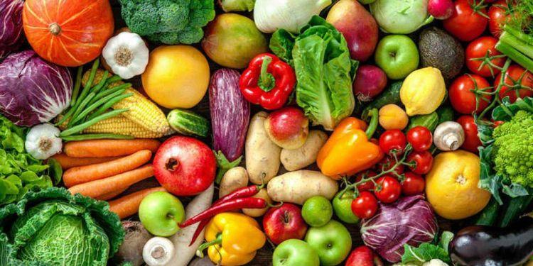 fruta y verduras
