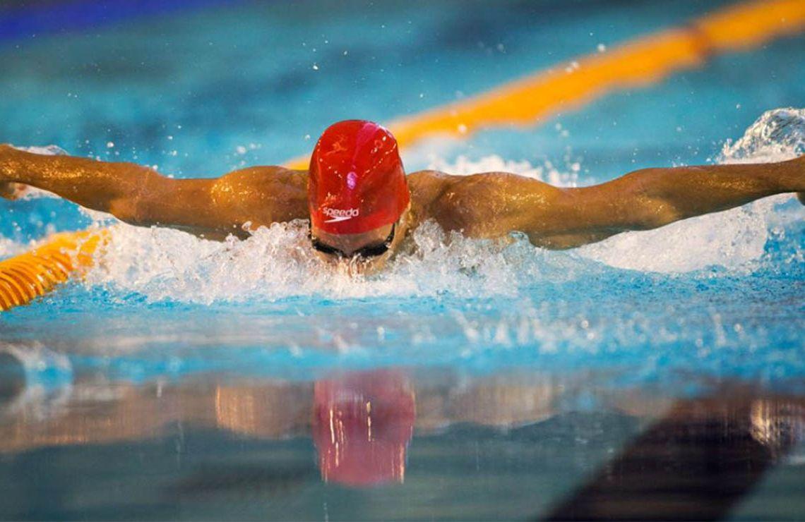 Nadador ciego | Foto: FEDC