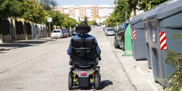 silla de ruedas electrica calle