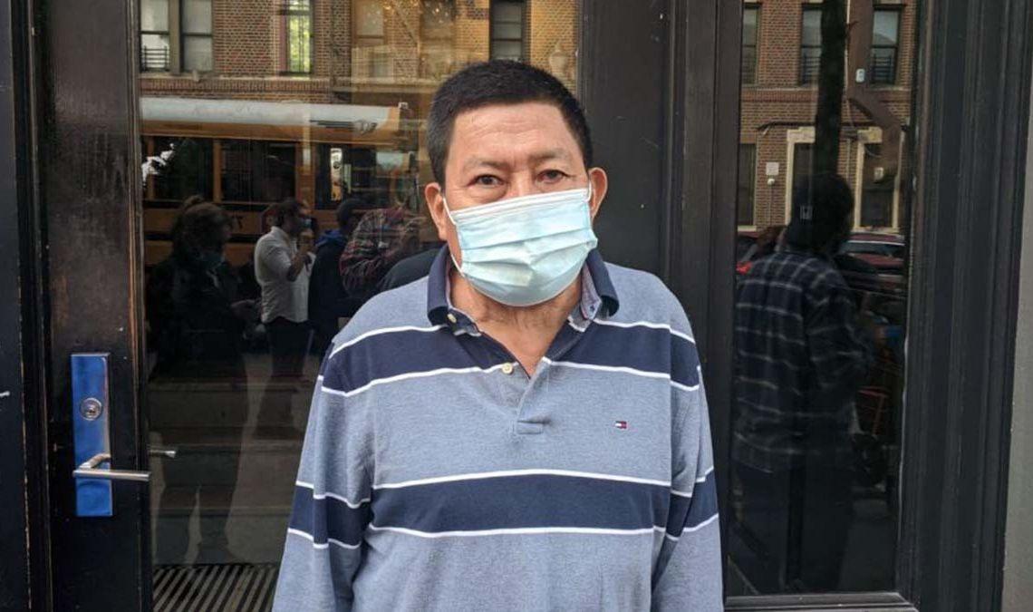Atanacio Ortiz, anciano con discapacidad