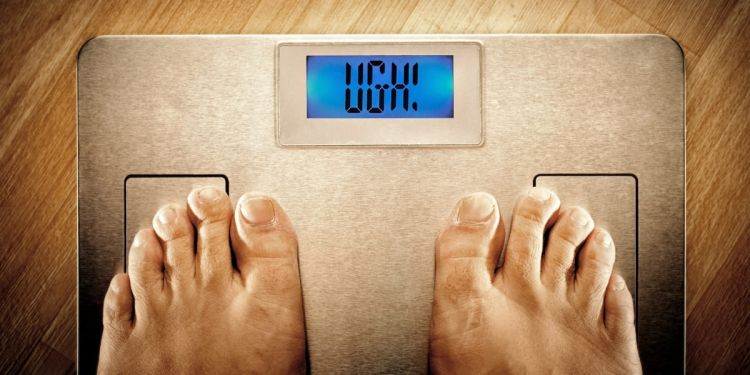 Báscula perder peso dieta
