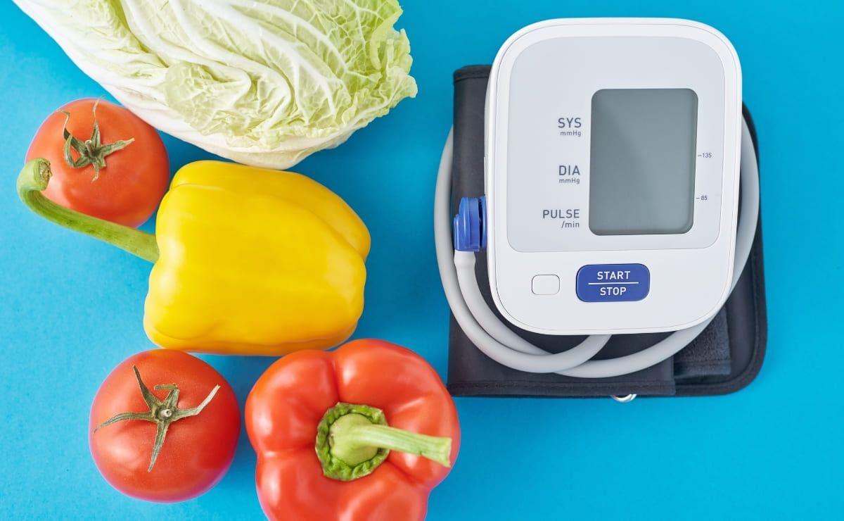Comer sano para reducir presión sanguínea