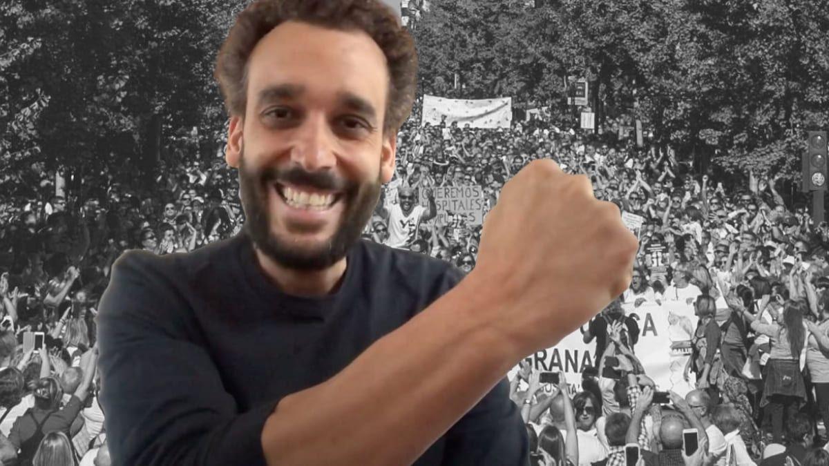 Jesús Candel - Spiriman Manifestación