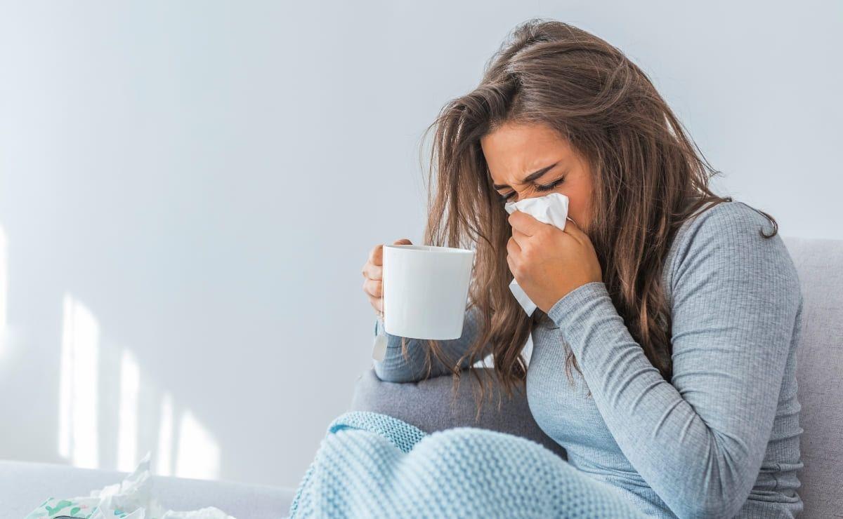 Resfriado gripe covid-19