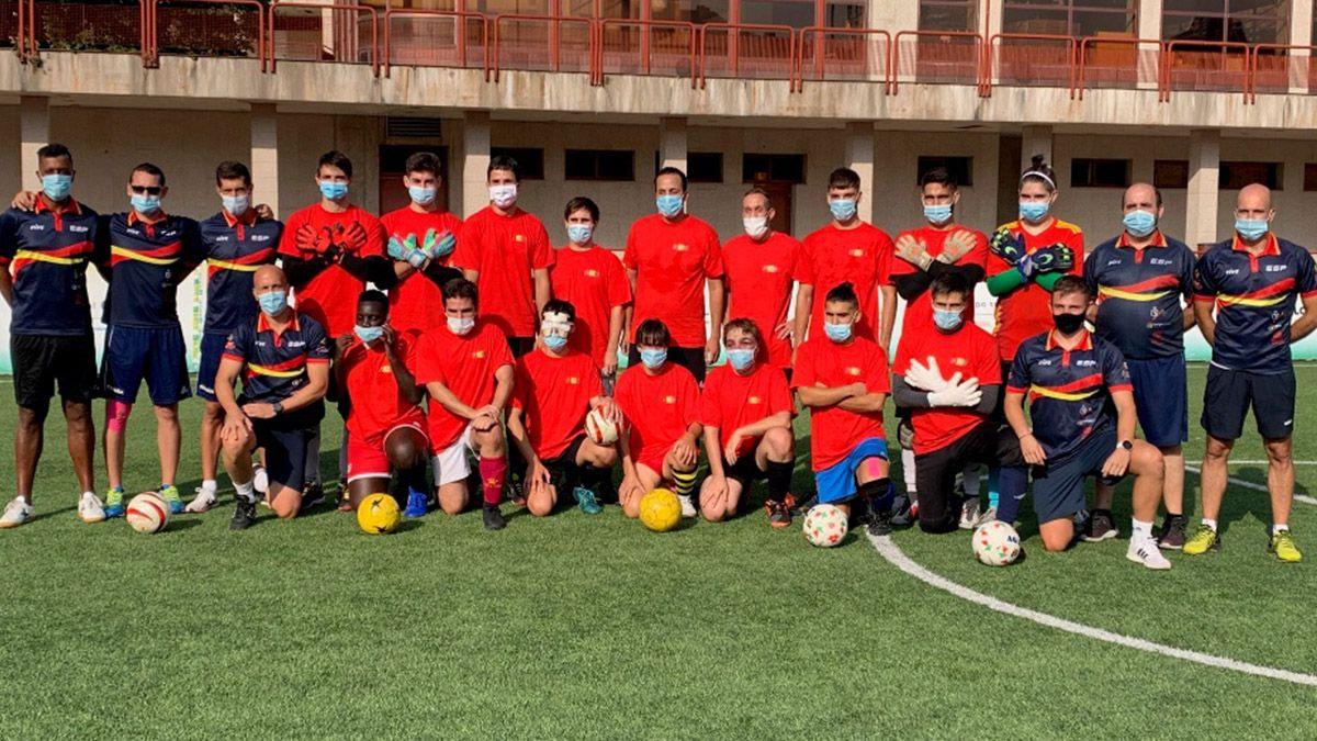 Selección Española de fútbol para ciegos