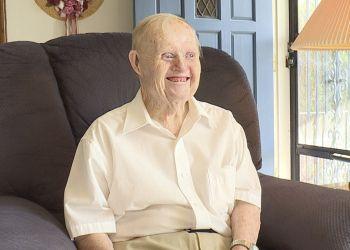Bryce Walker, anciano con síndrome de Down