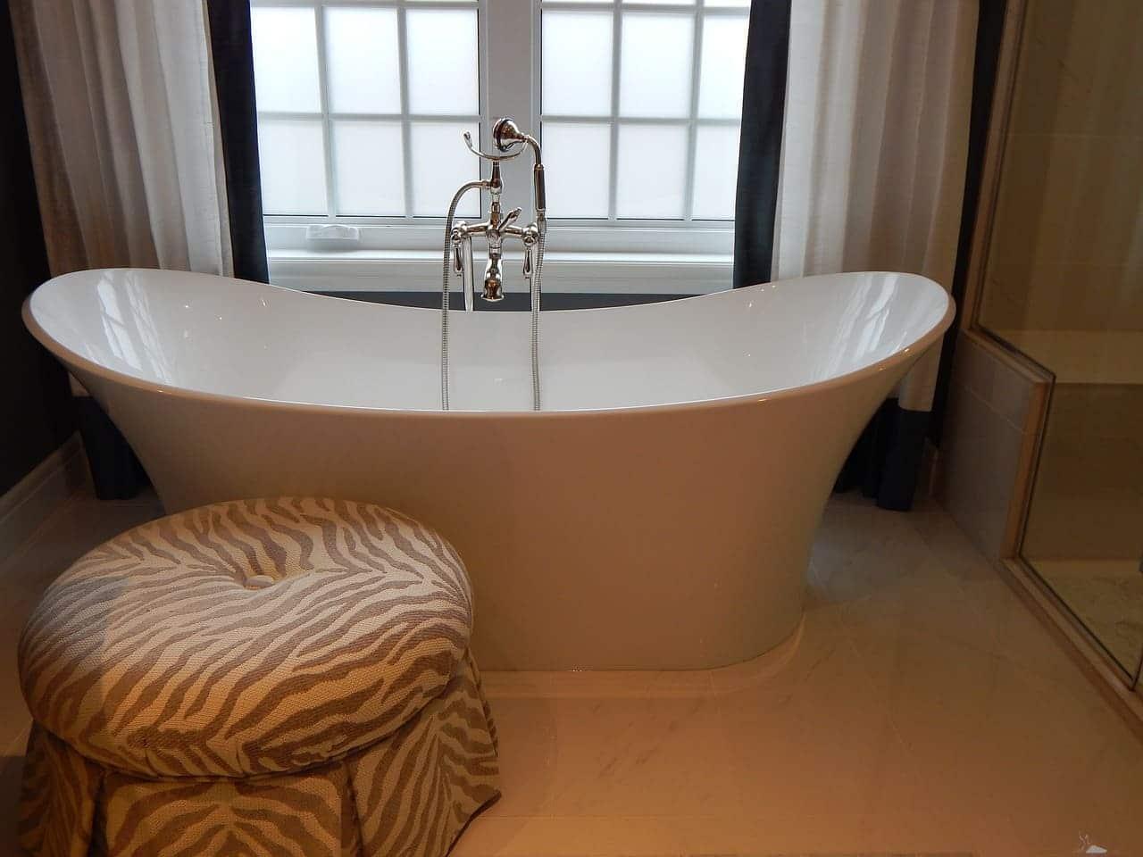 baños de agua caliente relajación
