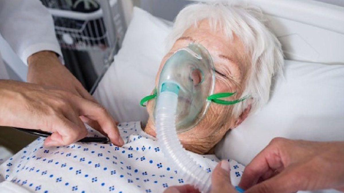 Coronavirus enfermedad pulmonar obstructiva EPOC Covid-19 hospitalizado