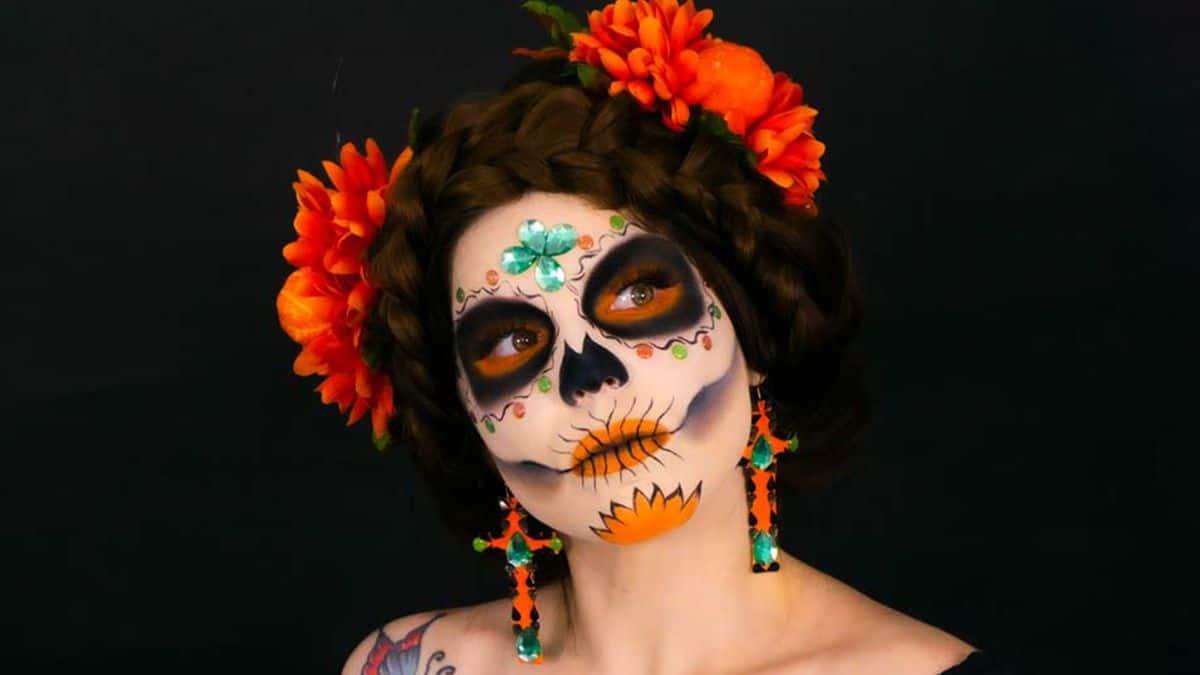 Maquillaje Catrina Día de Muertos