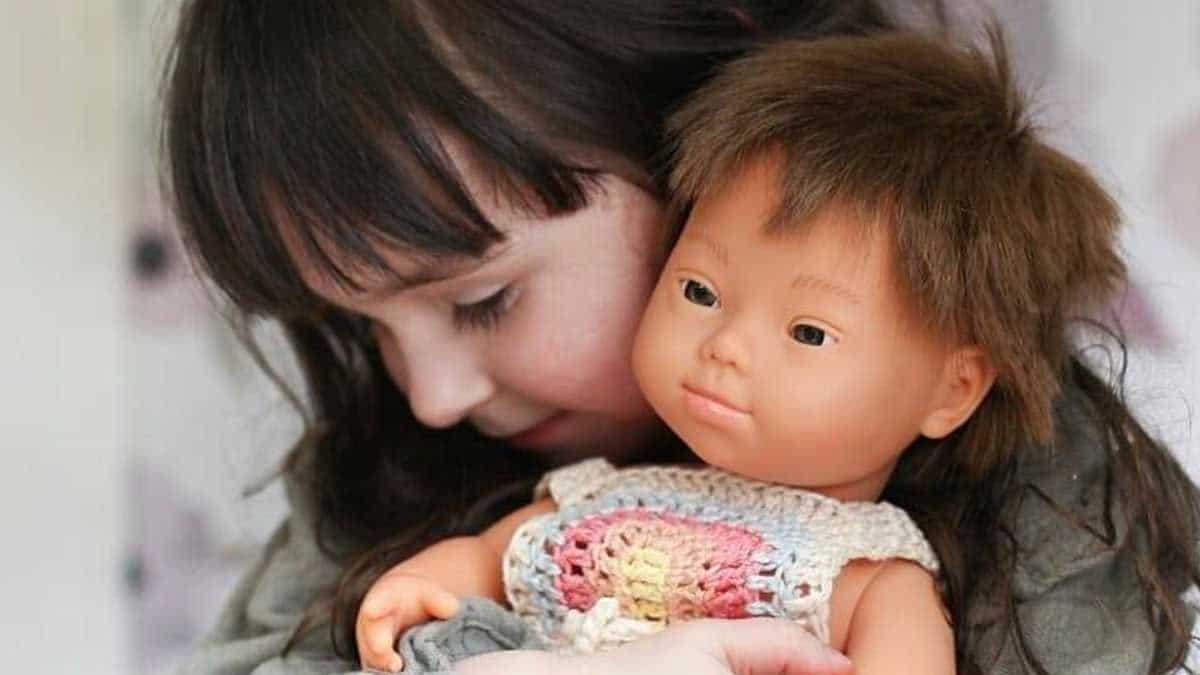 Muñecos con síndrome de Down de la empresa Miniland