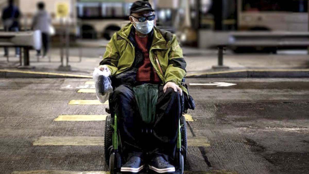 Persona con discapacidad durante la pandemia