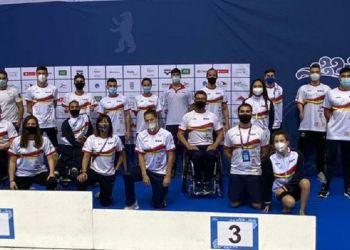 Medallas de España en las Series Mundiales Natación en Berlín