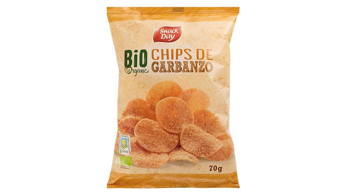 Chips de legumbres Bio de Lidl