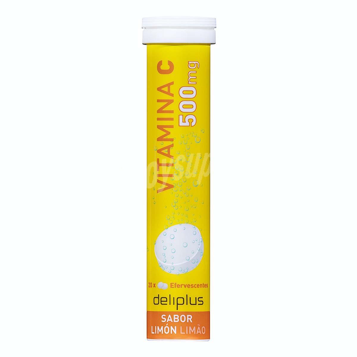 Comprimidos efervescente Vitamina C de Mercadona