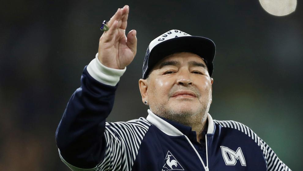 Diego Armando Maradona ha muerto (Agustin Marcarian : Reuters)