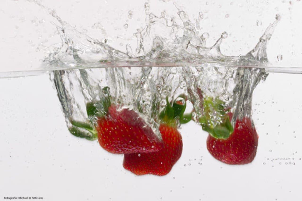 jugo fresas