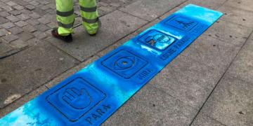Paso de peatones pictogramas