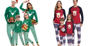 Pijamas familia navidad