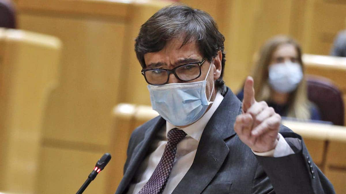 Salvador Illa hablando sobre la eutanasia
