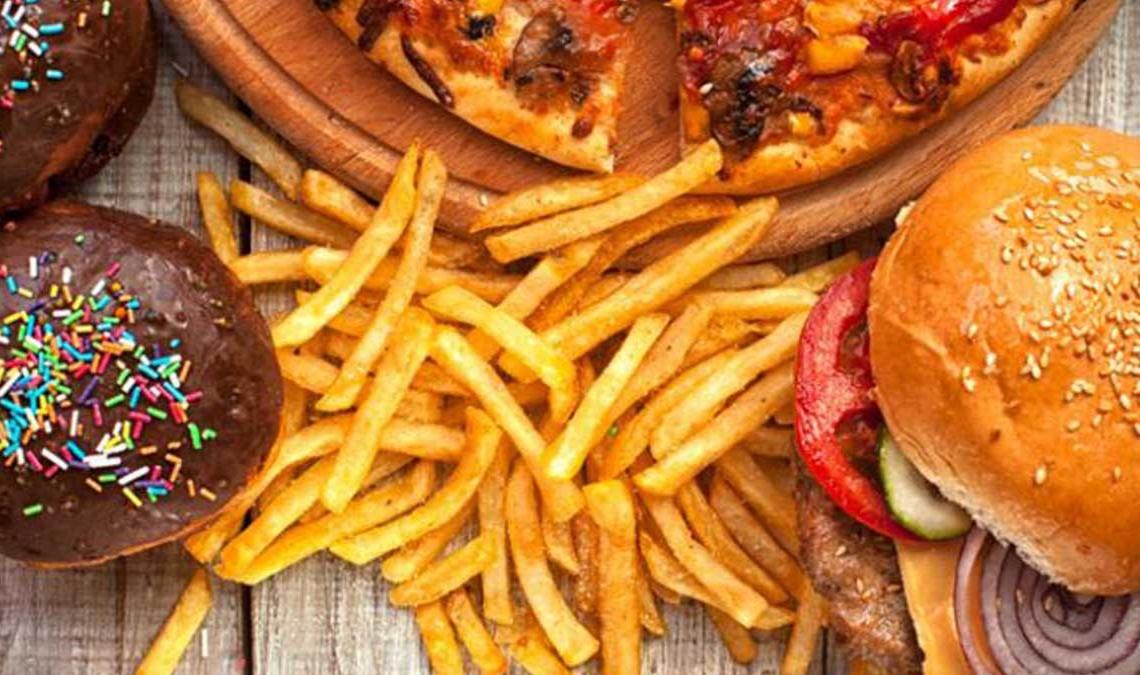 Triglicéridos en comida basura