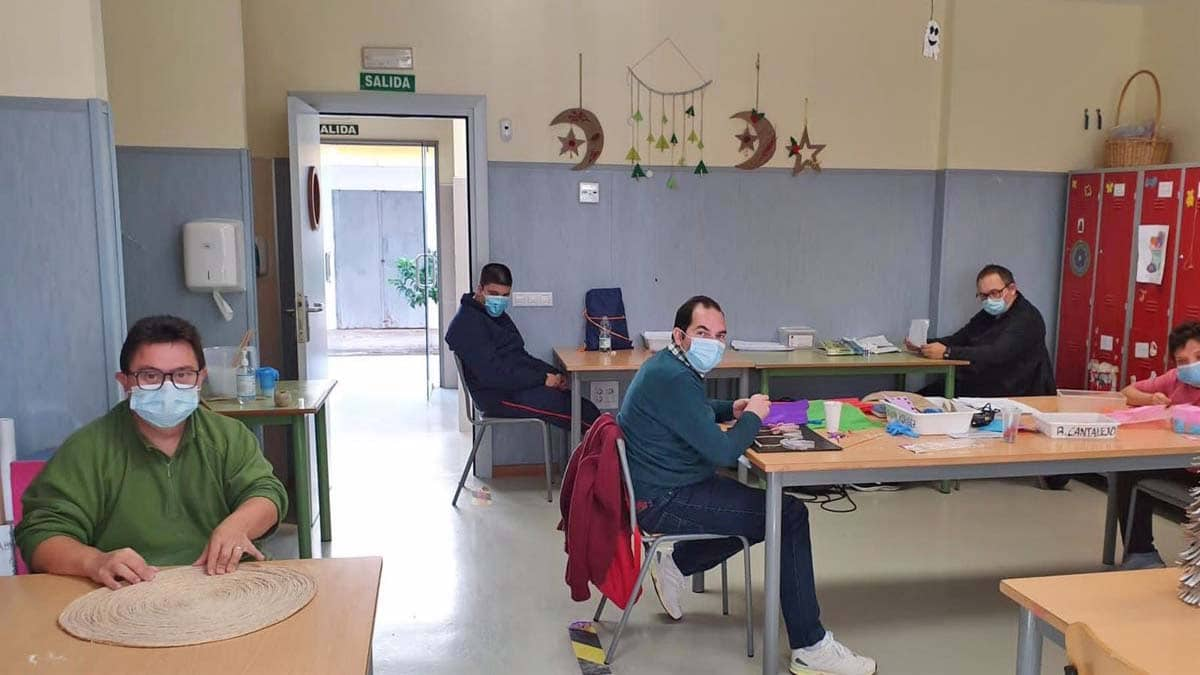 centro de día personas con discapacidad La Rinconada