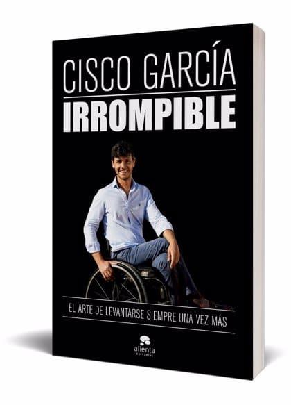 Portada de 'Irrompible' de Cisco García
