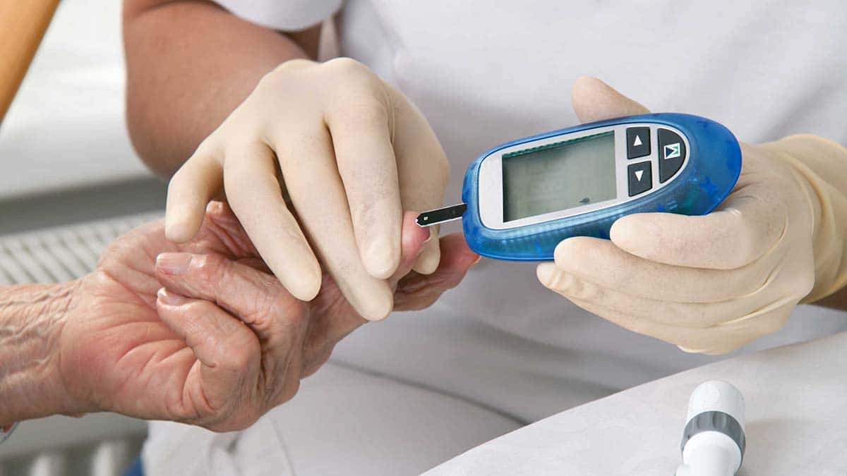 diabetes ictus glucómetro
