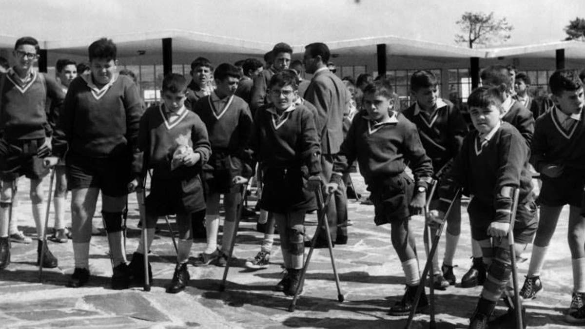 Víctimas de la polio durante el franquismo