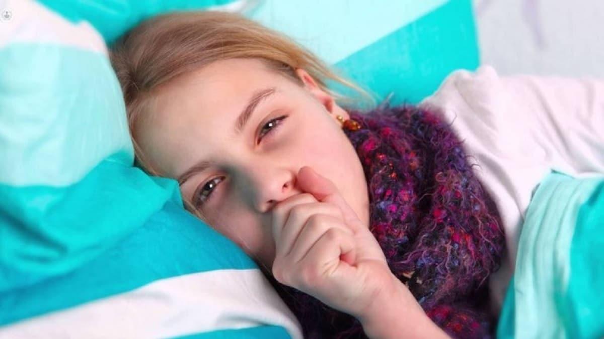 niña problema respiratorio