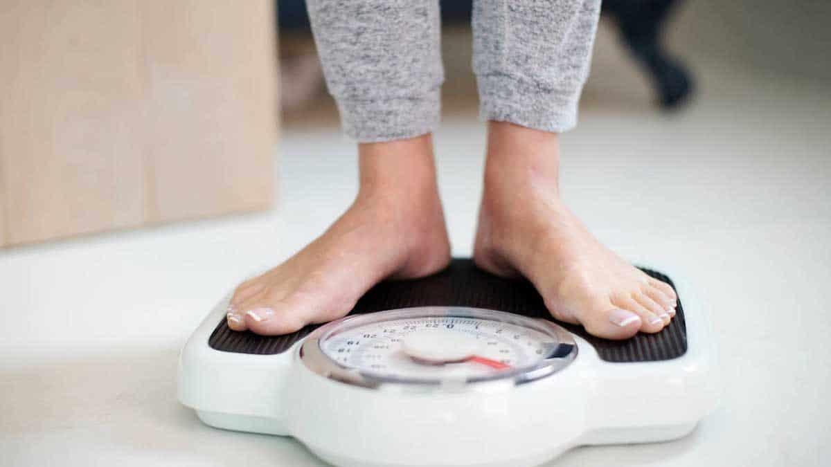 Báscula perder peso